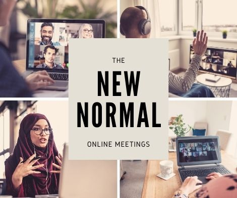 language for online meetings