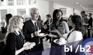 Present yourself confidently and professionally in business contexts